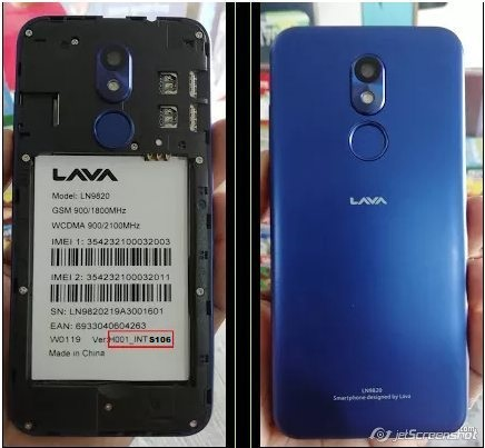 Lava LN 9820 Iris 45 Flash File Frp Without Password