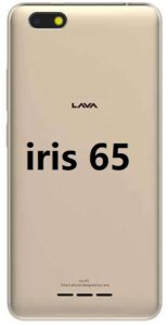 Lava Iris 65 Flash File S118/S120/S112/S117 Without Password