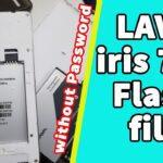 lava iris 702 flash file