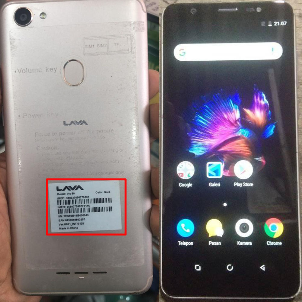 Lava Iris 90 Flash File Firmware Without Password