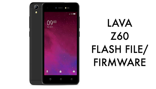 Lava Z60 Flash File Firmware Without Password S106/S107